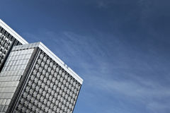 Modern buildings and blue sky Royalty Free Stock Photos
