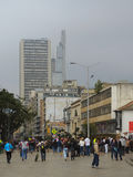 Modern buildings in Bogota, Colombia. Royalty Free Stock Photography