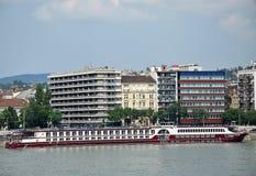 Modern buildings of Budapest, Hungary Stock Image
