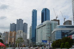 Modern Buildings in Busan, South Korea Stock Photos
