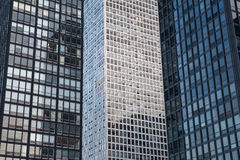 Modern buildings in Chicago stock photography