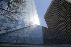 Modern  buildings in city Dallas TX Stock Photos