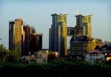Modern buildings in the city of kiev. Ukraine Stock Image