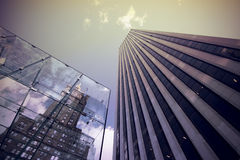 Modern buildings in city Royalty Free Stock Images