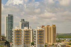 Modern Buildings Cityscape Scene Natal Brazil. NATAL, BRAZIL, JANUARY - 2016 - Cityscape day scene of modern apartment buildings in Natal, Brazil Stock Photography