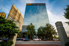Modern buildings in Columbia, South Carolina. Royalty Free Stock Photography