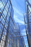 Modern Buildings, Courtyard Royalty Free Stock Photography