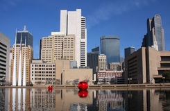 Modern buildings in Dallas Royalty Free Stock Photography