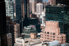 Modern buildings, diferent shapes, structures, col Royalty Free Stock Photos