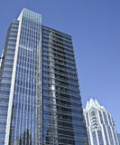 Modern buildings in downtown Austin Royalty Free Stock Photography