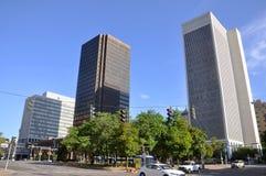 Modern Buildings in downtown Buffalo Stock Photos