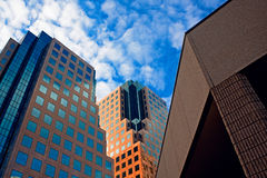 Modern buildings in downtown Royalty Free Stock Photo
