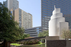 Modern  buildings in downtown Dallas Royalty Free Stock Photography