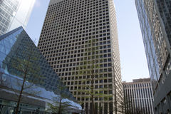 Modern  buildings in downtown Dallas TX Royalty Free Stock Photo