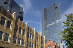 Modern buildings in downtown  Fort worth Stock Photos