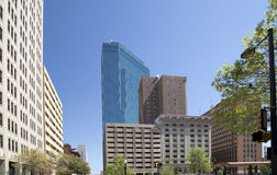 Modern buildings in downtown Fort Worth TX Stock Image