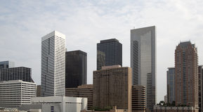 Modern buildings in downtown of Houston Stock Photo