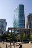 Modern buildings at Downtown Vancouver BC Canada Royalty Free Stock Image
