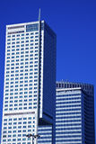 Modern buildings in downtown of Warsaw Royalty Free Stock Images
