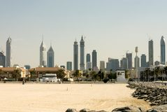 Modern Buildings, Dubai Royalty Free Stock Image