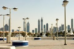 Modern Buildings, Dubai Stock Photo