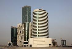 Modern buildings in Dubai Stock Photo