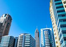 Modern buildings, Dubai, United Arab Emirates Royalty Free Stock Photography
