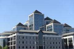 Modern buildings, Dublin Royalty Free Stock Images