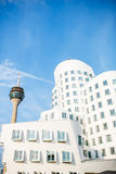 Modern buildings in Dusseldorf Stock Photo