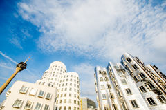 Modern buildings in Dusseldorf Stock Photography
