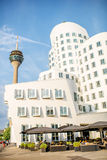 Modern buildings in Dusseldorf Royalty Free Stock Photo