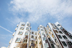 Modern buildings in Dusseldorf Royalty Free Stock Photography