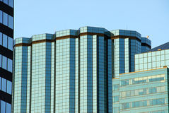 Modern buildings in edmonton Stock Photography