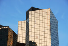 Modern buildings in edmonton Royalty Free Stock Photos