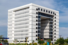 Modern buildings of Gaborone Stock Photo