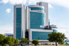 Modern buildings of Gaborone Royalty Free Stock Images