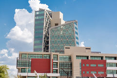 Modern buildings of Gaborone Royalty Free Stock Image