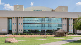 Modern buildings of Gaborone Stock Photography