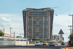 Modern buildings of Gaborone Royalty Free Stock Photography