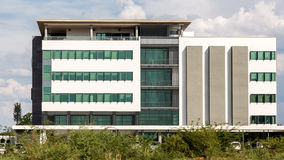 Modern buildings of Gaborone Royalty Free Stock Photo