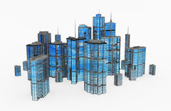 Modern Buildings, Group Stock Photo