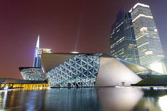 Modern buildings in Guangzhou stock photo