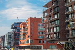 Modern buildings in the Hafencity Royalty Free Stock Photo