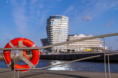Hafencity in Hamburg Royalty Free Stock Photos