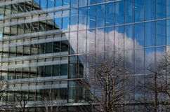 Modern buildings in the hearth of london City Stock Images