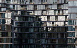 Modern buildings in the hearth of london City. Modern building in the hearth of London City. Towers of glass and steel where thousand of people everyday works Stock Photo