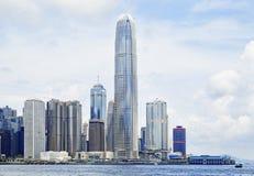 Modern Buildings in Hong Kong Royalty Free Stock Photo