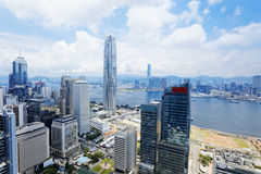 Modern Buildings in Hong Kong finance district. Hong Kong , Modern Buildings in finance district Stock Image