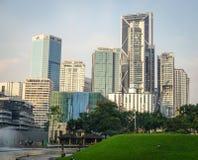 Modern buildings in Kuala Lumpur, Malaysia Royalty Free Stock Photo
