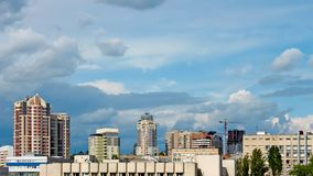 Modern buildings in Kyiv, Ukraine Stock Image